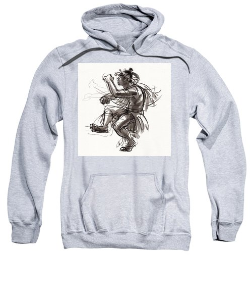 Cook Islands Male Dancer Sweatshirt