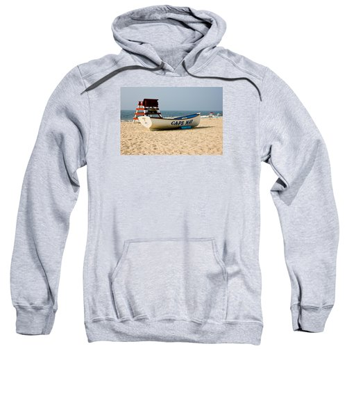 Cool Cape May Beach Sweatshirt