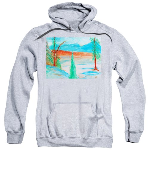 Cool Landscape Sweatshirt