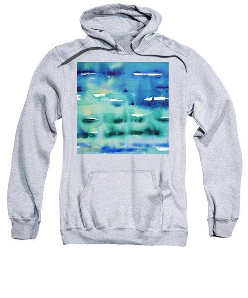 Cool Watercolor Sweatshirt