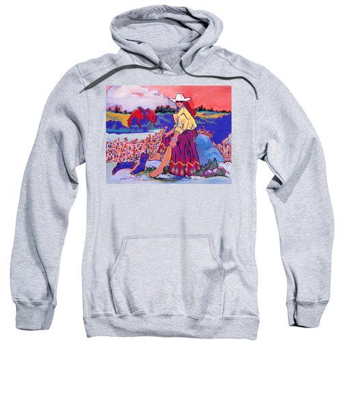 Cooling Their Heels  Sweatshirt