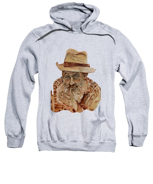 Coppershine Popcorn Bust - T-shirt Transparency Sweatshirt