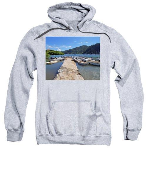 Coral Bay Dinghy Dock Sweatshirt