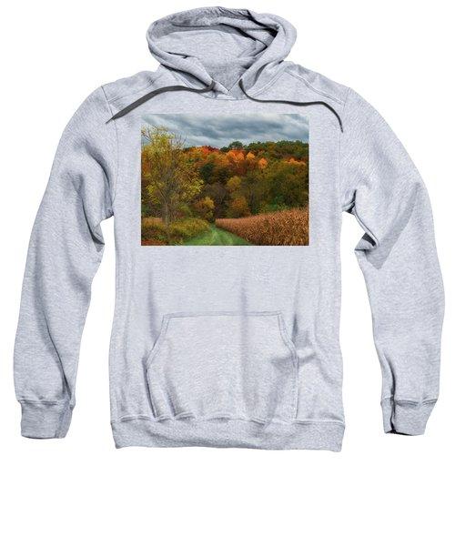 Cornfield In Fall  Sweatshirt
