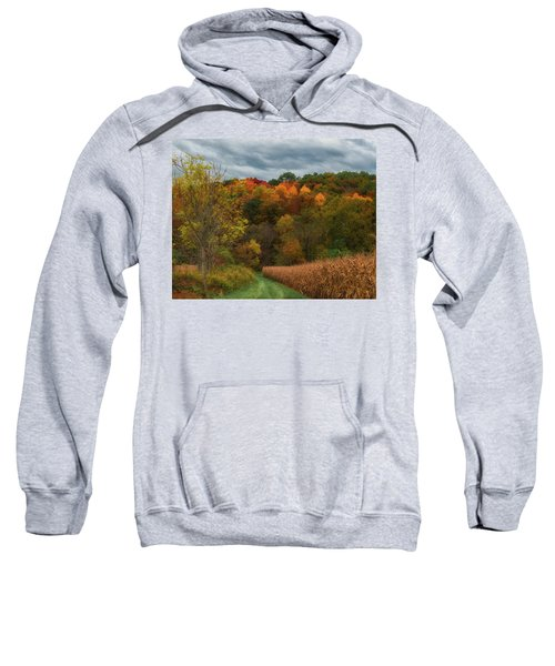 Cornfield In Fall  Sweatshirt