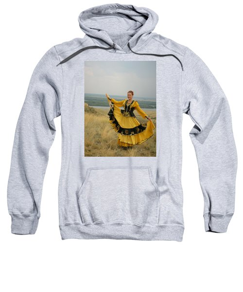 Cossack Young Woman Sweatshirt