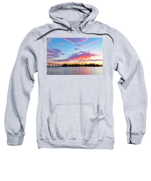 Cotton Candy Sunset Sweatshirt