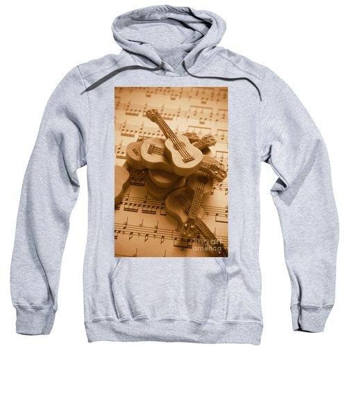 Country And Western Guitars. Music Education Sweatshirt