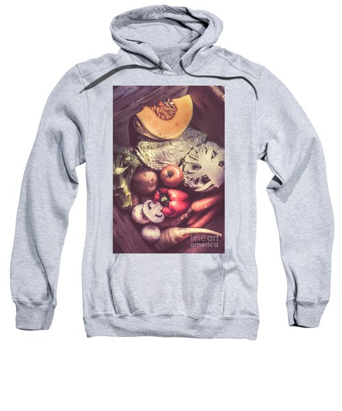 Country Style Foods Sweatshirt by Jorgo Photography - Wall Art Gallery