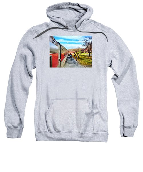 Country Train Depot Sweatshirt