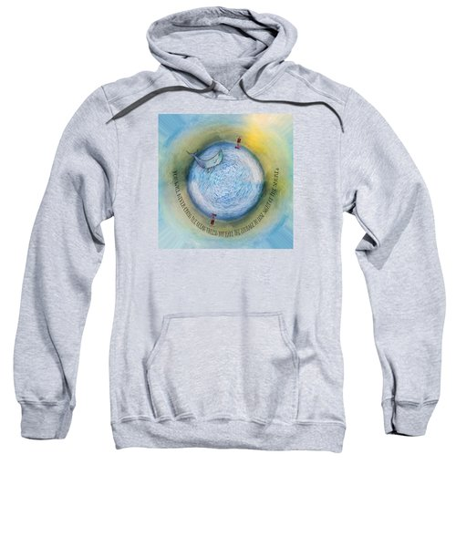 Courage To Lose Sight Of The Shore Orb Mini World Sweatshirt