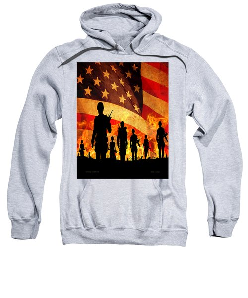 Courage Under Fire Sweatshirt