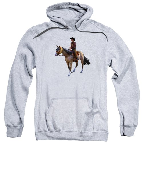 Cowboy Blue Sweatshirt