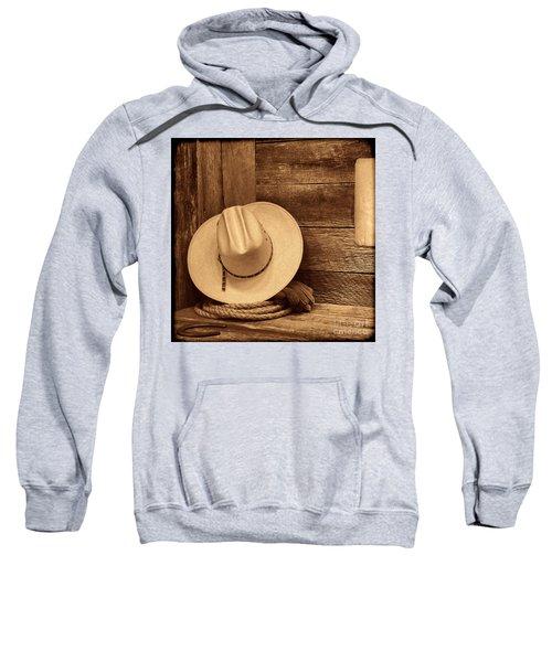 Cowboy Hat In Town Sweatshirt