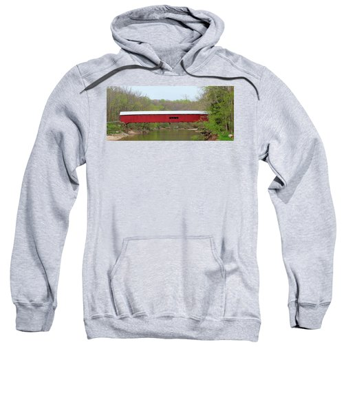 Cox Ford Covered Bridge - Sideview Sweatshirt