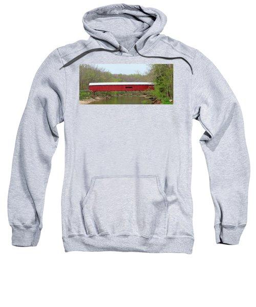 Cox Ford Covered Bridge - Sideview Sweatshirt