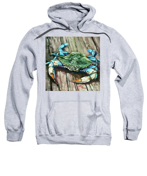 Crabby Blue Sweatshirt
