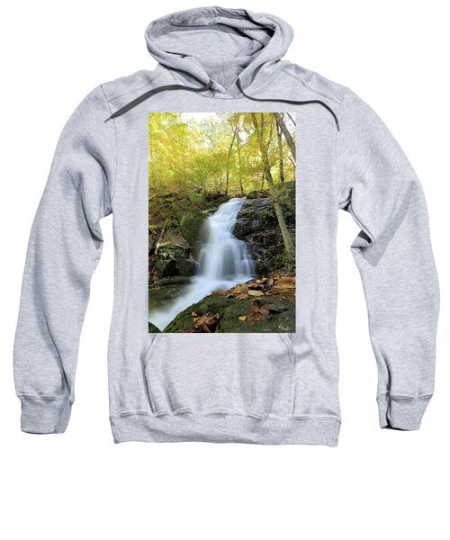 Crabtree Falls In The Fall Sweatshirt
