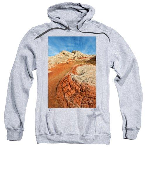 Cracks And Swirls Sweatshirt