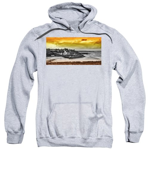 Crail Harbour Sweatshirt by Jeremy Lavender Photography