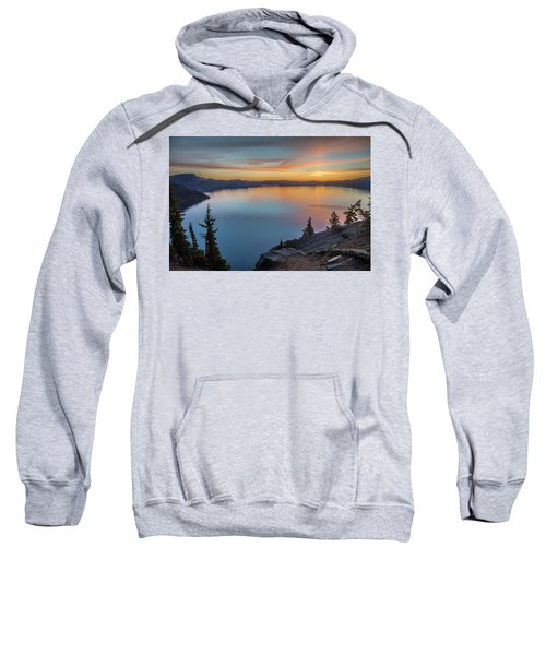 Crater Lake Morning No. 1 Sweatshirt