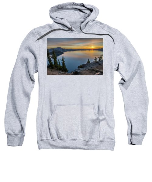 Crater Lake Morning No. 2 Sweatshirt