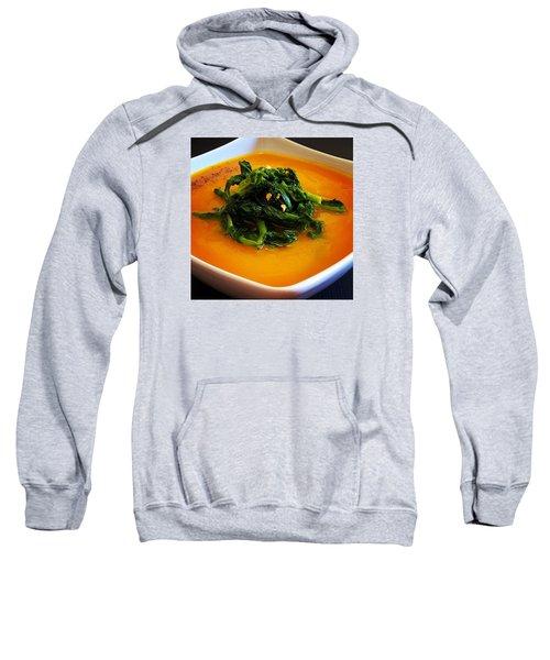 Cream Pumpkin With Broccoletti Sauteed Sweatshirt