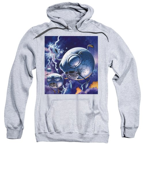 Creatures In Outer Space  Sweatshirt