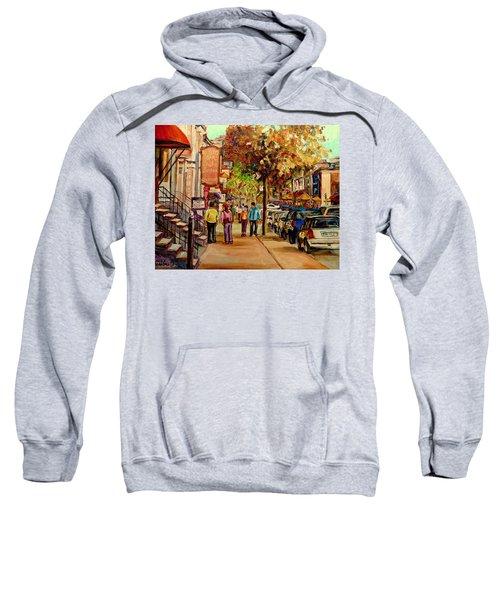 Crescent Street Montreal Sweatshirt