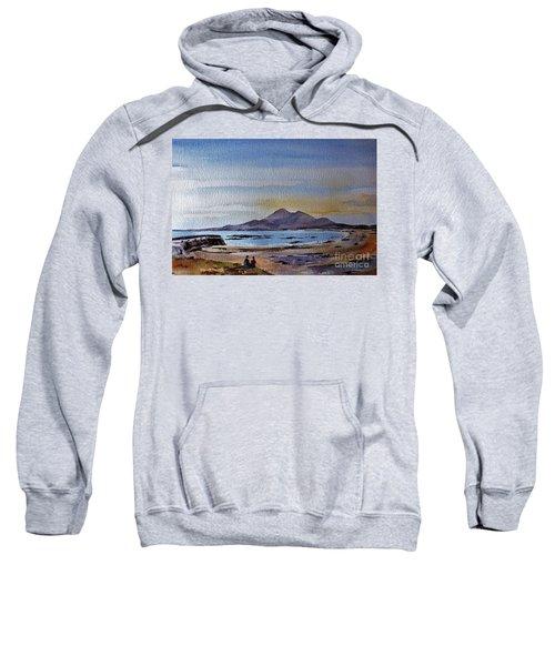 F801  Croagh Patrick From Old Head, Mayo Sweatshirt