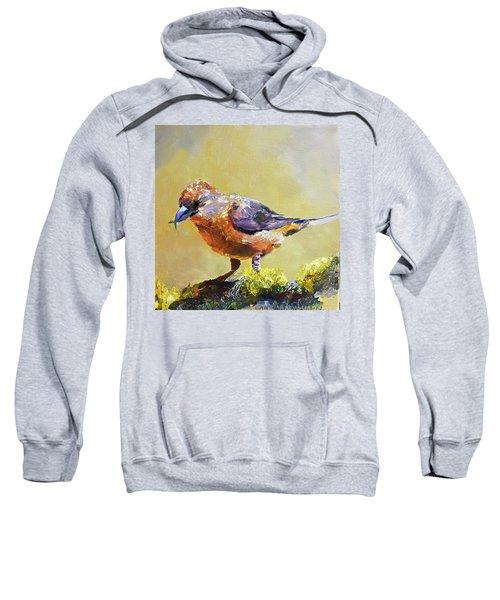 Crossbill Sweatshirt by Jan Hardenburger