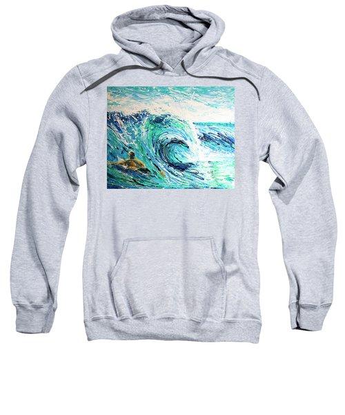 Crossing The Sandbar Sweatshirt