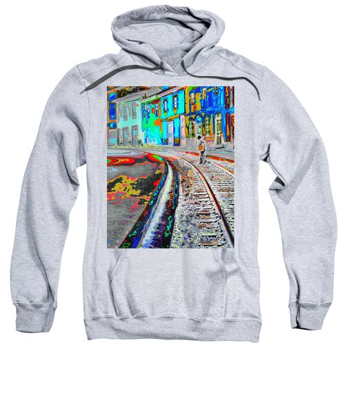 Crossing The Tracks Sweatshirt