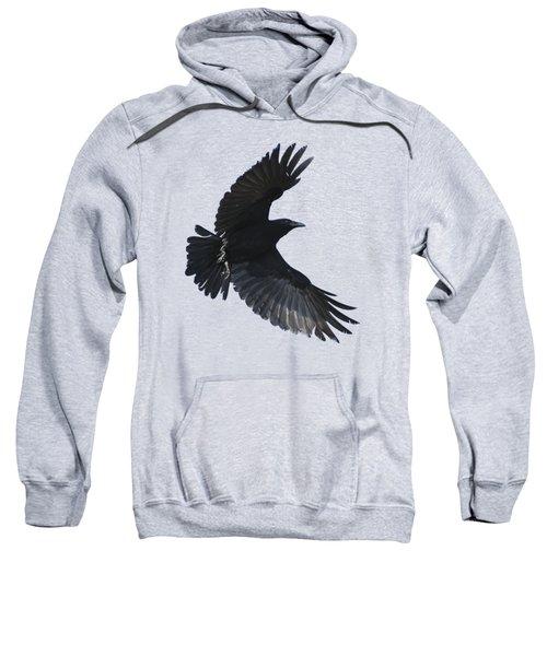 Crow In Flight Sweatshirt