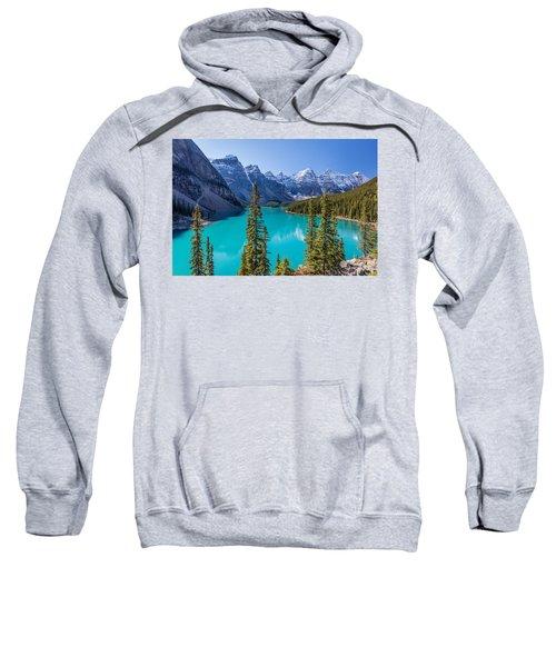 Crown Jewel Of The Canadian Rockies Sweatshirt