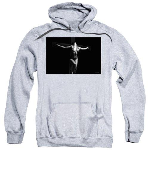 Crucified Woman Sweatshirt