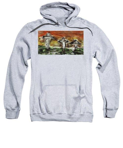 Crucifixion #2 Sweatshirt