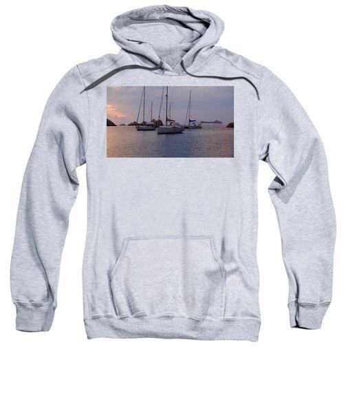 Cruise Liner Passing Sweatshirt