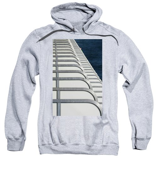 Cruise Ship's Balconies Sweatshirt