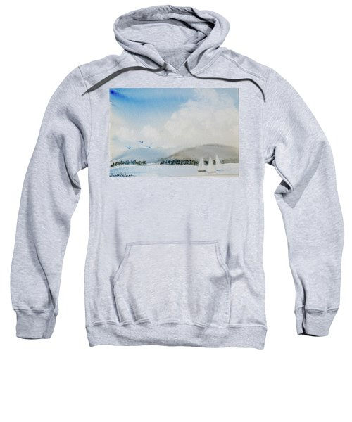 Cruising In Company Along The Tasmania Coast  Sweatshirt