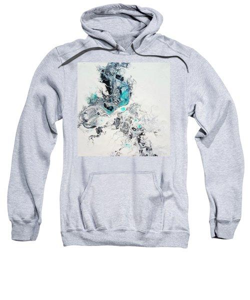 Crystals Of Ice Sweatshirt