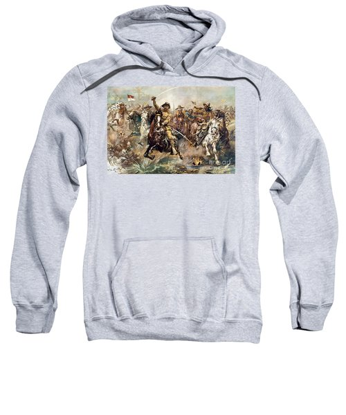 Cuba: Rough Riders, 1898 Sweatshirt