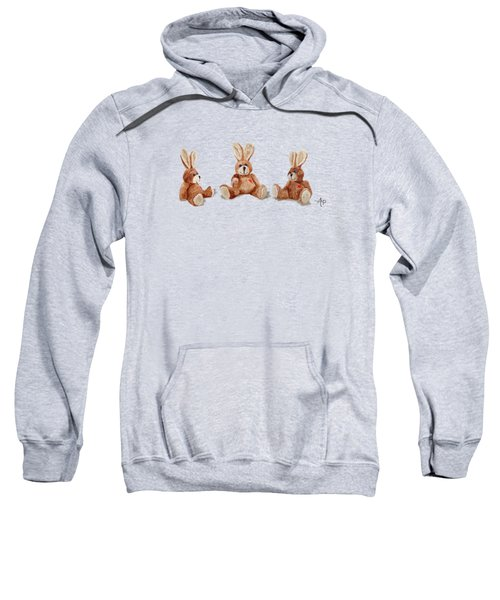Cuddly Care Rabbit II Sweatshirt by Angeles M Pomata