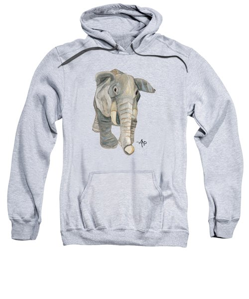 Cuddly Elephant Sweatshirt by Angeles M Pomata