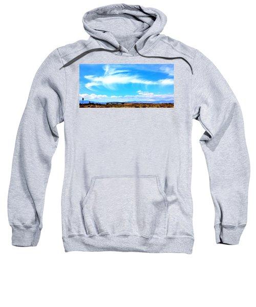Dragon Cloud Over Suburbia Sweatshirt