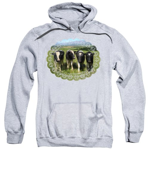 Curious Cows Sweatshirt
