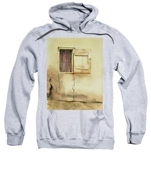 Curtain In Window Sweatshirt