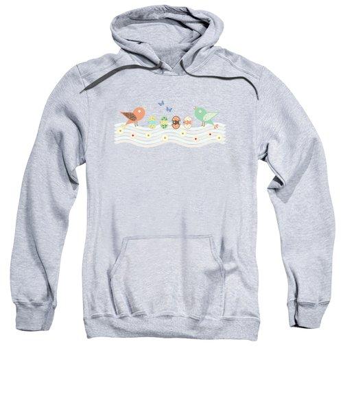 Cute Birds Sweatshirt