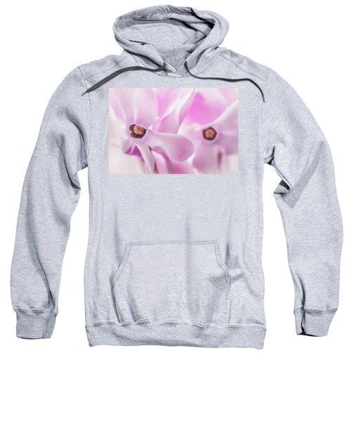 Cyclamen Hearts Sweatshirt