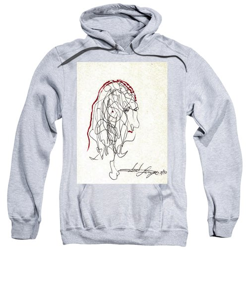 Da Vinci Drawing Sweatshirt